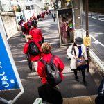 První japonské kroky pardubického sboru BONIFANTES