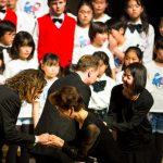Bonifanti na japonském turné rozdávají autogramy