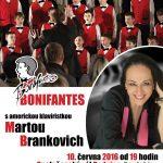 Americká klavíristka Marta Brankovich hostem Bonifantů