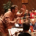 Natáčení Messe solenne L. Cherubini