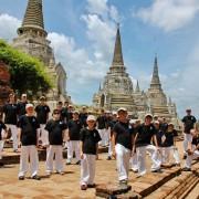 Starobylé město Ayutthaya, Thajsko, Asie 2013