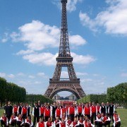 Eiffelova věž, Paříž, Francie 2002