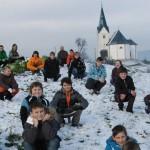 BONIFANTES na svém osmém turné po Slovinsku bojovali se sněhovou bouří