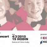 Pozvánka na výroční koncert