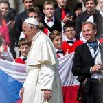 Setkání s papežem Františkem
